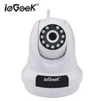 IeGeek Casa de Segurança Câmera de 1080 P Wi-fi Monitor Do Bebê Mini Pet Care Microfone Speaker Remoto Comunicar Fácil Utilização de Alarme de Perigo