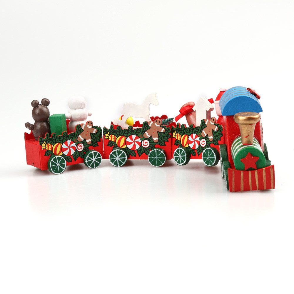 1set christmas train - Christmas Train Decoration