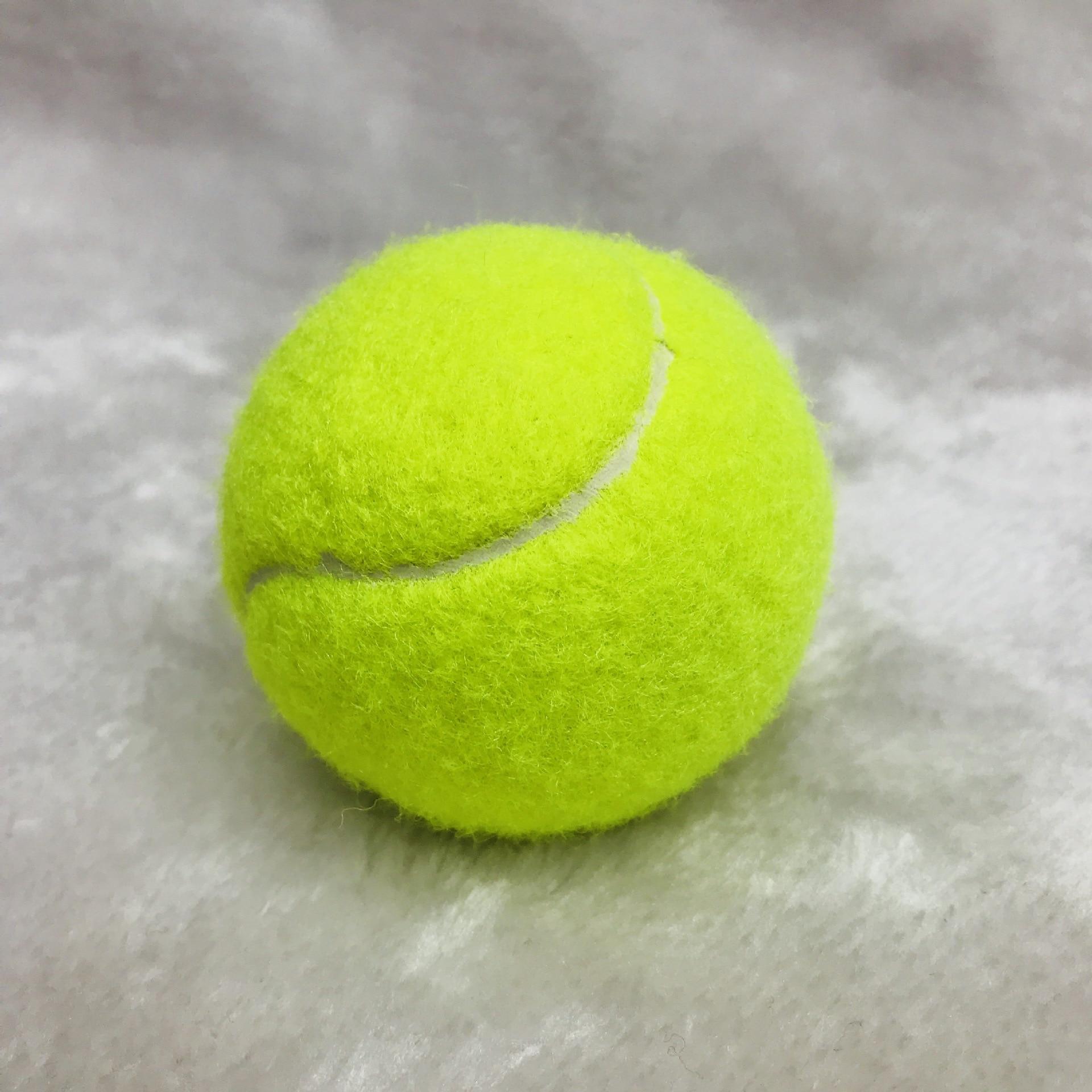 3 Pcs Training Tennis Balls  Tennis Play  Standard Bonce Ball (1. 1m ) & Durable  Best For Practice