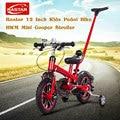 Rastar 12 Pulgadas Niños Pedal de Bicicleta Mini Cooper Cochecito infantil Bicicleta con Manillar Desmontable y Extraíble Estabilizadores