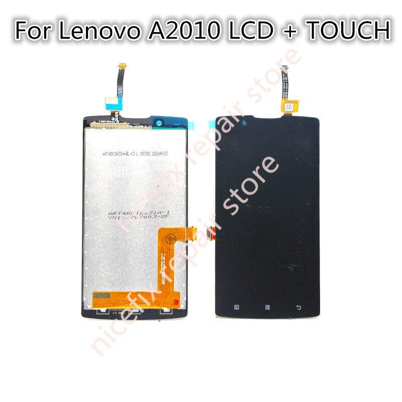 imágenes para Para Lenovo A2010 Un 2010 LCD display + touch screen digitalizador Asamblea piezas de repuesto con herramientas gratuitas de reparación envío gratis