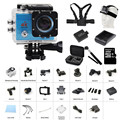 Original Go Waterproof Pro Action Camera Deportiva 4K Wifi Wireless Diving 30M Similar SJ4000 Gopro Style Car DVRs Q3H