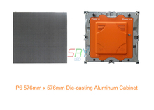P6 Крытый Полноцветная литья Аль Светодиодный, 576 мм х 576 мм