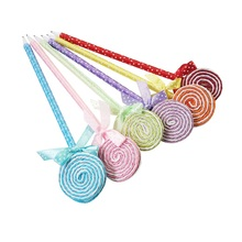 Colorful Lollipop Party Favor Ballpoint Pens Set