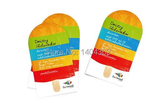 Us 51 0 15 Off Kundenspezifische Visitenkarte Druck Personalisierte Gestanzte Visitenkarte Runden Ecken Und Volle Farbe In Visitenkarten Aus Büro