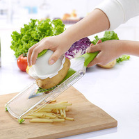 Mandoline Fruit Vegetable Slicer With 4 Stainless Steel Blades Carrot Grater Chopper Cutter Kitchen Accessories