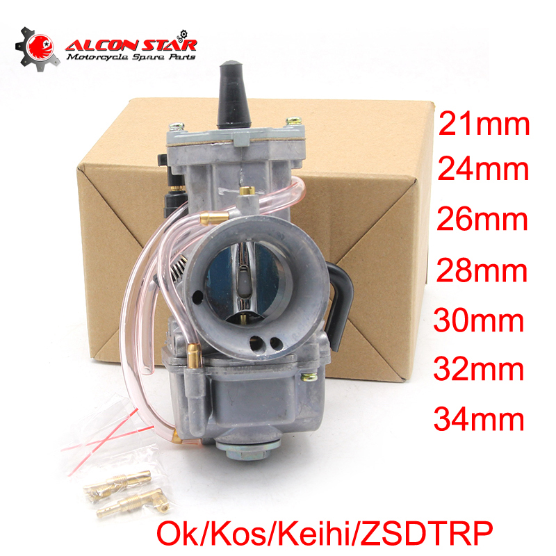 Alconstar Koso Keihi OKO PWK ZSDTRP 21mm 24mm 26mm 28mm 30mm 32mm 34mm Performance Racing Carburetor For Scooter JOG DIO KR150