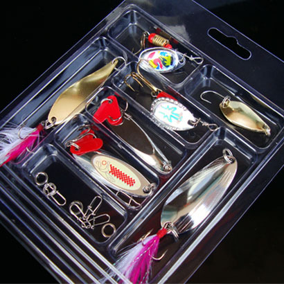lure 9Pcs Artificial Fishing Set Lure with Box Hard Soft Bait Minnow Spoon Crank Shrimp Jig Lure Fishing Tackle Accessories fish 5 pcs hot sale top mouse mice lure fishing soft bait fishing tackle box accessory tool metal spoon fishhook