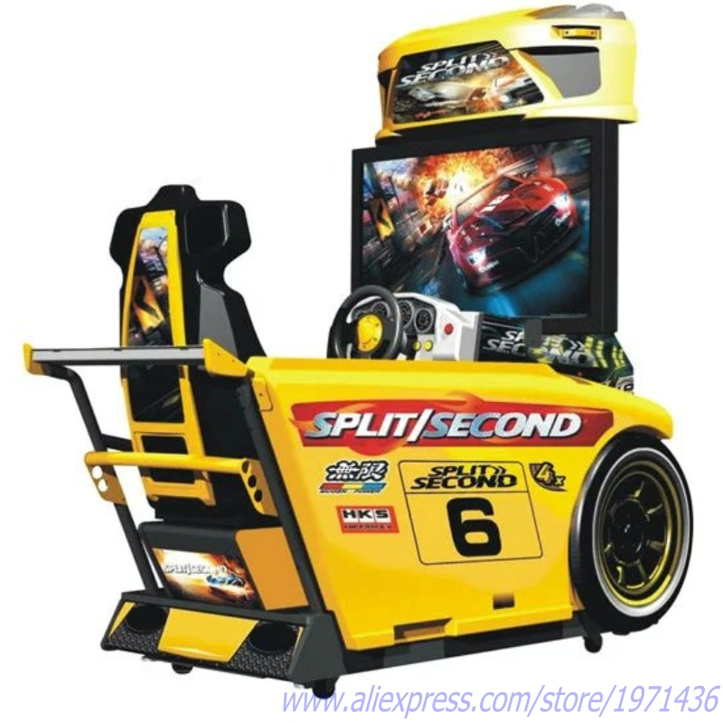 Need For Speed Coin Operated Simulator Machine Driving Car Racing Games image