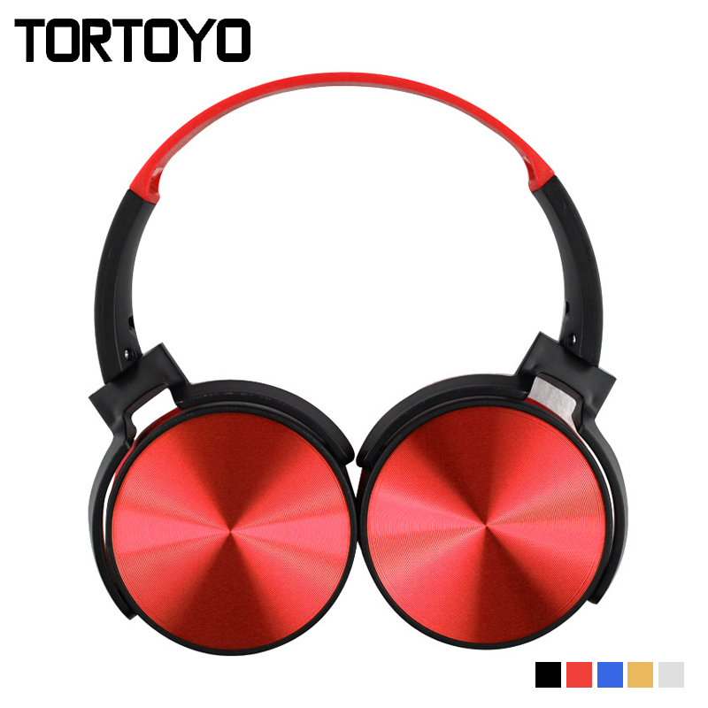 TORTOYO Portable Bluetooth Headphone Wireless Over Ear Foldable Stereo Bass Headset with Microphone TF Card FM Radio 3.5mm Aux zealot b570 headset lcd foldable on ear wireless stereo bluetooth v4 0 headphones with fm radio tf card mp3 for smart phone