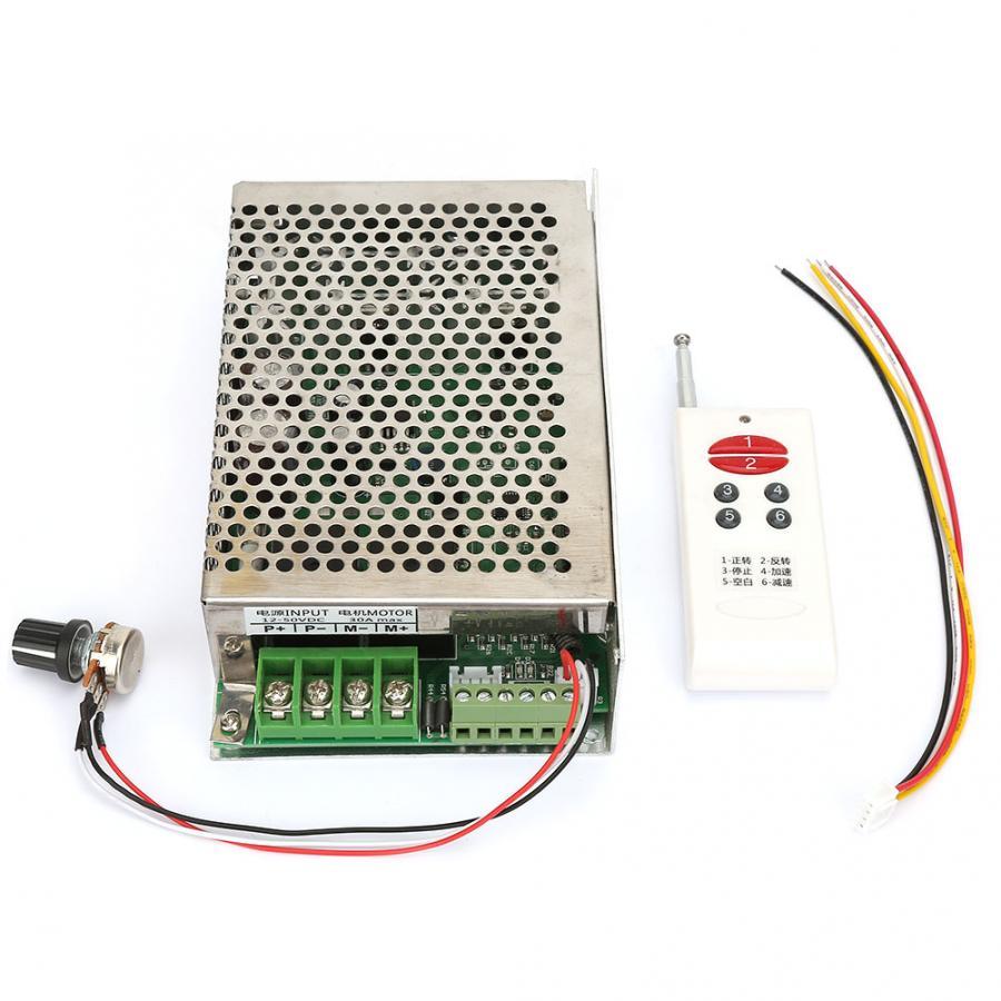 DC motoréducteur télécommande sans fil DC moteur régulateur de vitesse 12 V/24 V/30 V 30A avant et arrière DC synchrone