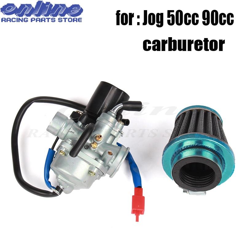 Carburetor For 2 Stroke Yamaha Jog 50cc 90cc 100cc Scooter Carb Electric Choke
