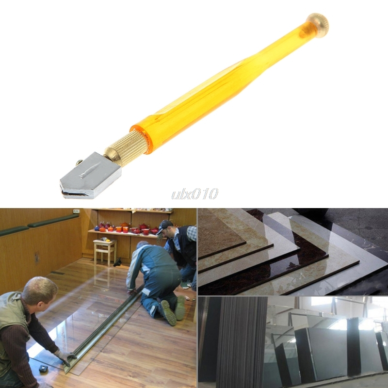 Portable 173mm Antislip Cutting Tool Carbide Wheel Blade Glass Tile Cutter Diamond Tip Tool For 3mm-15mm Glass Jan Drop Ship
