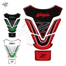 3D Motorcycle Tank Pad Protector Sticker Decals Case for Kawasaki NINJA 250 300 Z750 Z800 Z900 Tankpad Stickers(China)