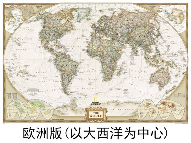 Online shop antique printed classic style canvas world map frameless antique printed classic style canvas world map frameless draw core map customized world map gumiabroncs