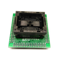 QFN32 MLF32 IC Test Adapter Pitch 0.5mm IC550 0324 007 G Programming Socket Open Top Chip Size 5*5 Flash Adapter Burn in Socket