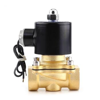 1 Pcs Solenoid Valve for Water DC 24V 3/4 DN20 Normally Close Electric Solenoid Valve for Water Gas Oil Brass Gas valvula