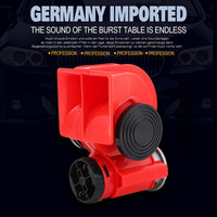 Universal High Power Loud Snail Air Horn 12V 24V Car Electric Siren For Cars Truck Motorbike