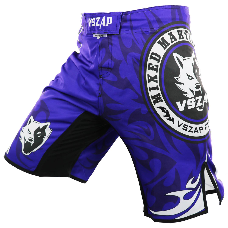 Для мужчин ММА Муай Тай боксерские Шорты VSZAP натуральная ММА фитнес-тренировки Тхэквондо боевые навыки полиэстер Шорты