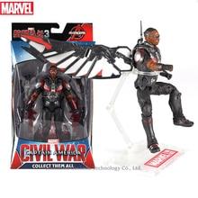 Hasbro Marvel Toys The Avenger Endgame 17CM Super Hero Thor Falcon Wolverine Spider Man Iron Man Action Figure Toy Dolls