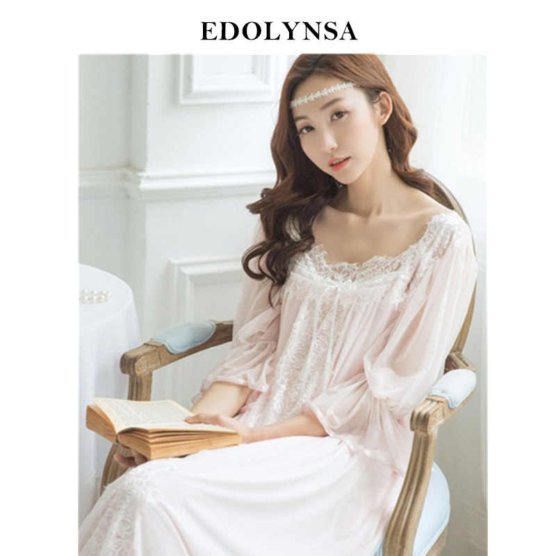c112dea63f50e Detail Feedback Questions about Nightgowns Sleepshirts 2019 Lady ...