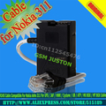 RJ45 Cable Compatible For Nokia Asha 311 For UFS / JAF / HWK / Cyclone / UB / ATF / MX BOX / MT BOX Cable