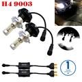 7G 12000LMS Extremadamente Brillante PhilipsLumiled ZES Chip de 160 W Bombillas LED para Coche faros de Niebla Luces DRL 9003 HB2 H4 Doble Cruce Hi