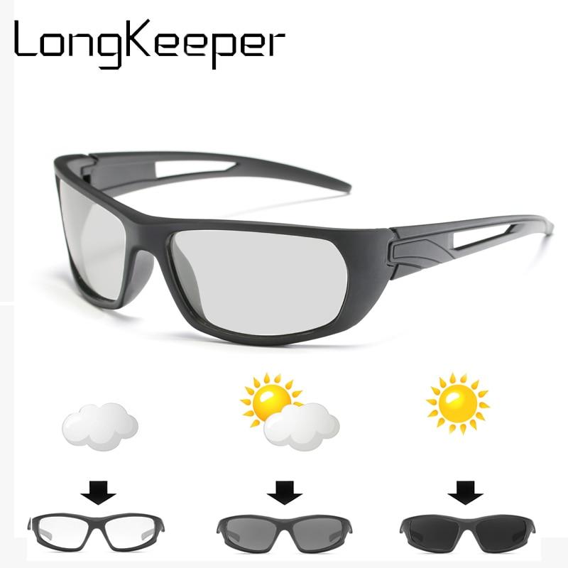 7006c89920 Classic Polarized Photochromic Sunglasses Mens uv400 Driving Fishing  Outdoor Sunglasses Outdoor Transition Lens Sunglasses Glass-in Sunglasses  from Apparel ...