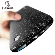 Baseus 10000mAh USB Power Bank 15mm Ultra font b Slim b font Powerbank Portable External Battery