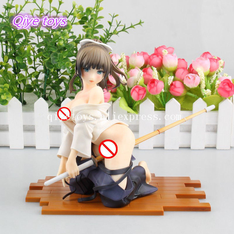 Anime Native Bayari kendo 1/6 Scale Sexy PVC 18cm Action Figure Collectable Model Gift 18cm japan anime native girl s strawberry sexy girl in school clothes 1 7 scale pvc model collection figure dolls toys