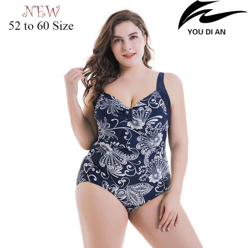 591ccb44373 Detail Feedback Questions about 2018 New women plus size swimwear one piece  swimsuit Russian larges size swim suit big size swimming wear beachwear  bathing ...
