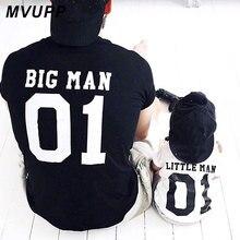 Семейные комплекты; футболка с большим маленьким человеком; одежда для папы и меня; одежда для папы, сына, папы, маленького мальчика; детская одежда; летняя одежда для братьев