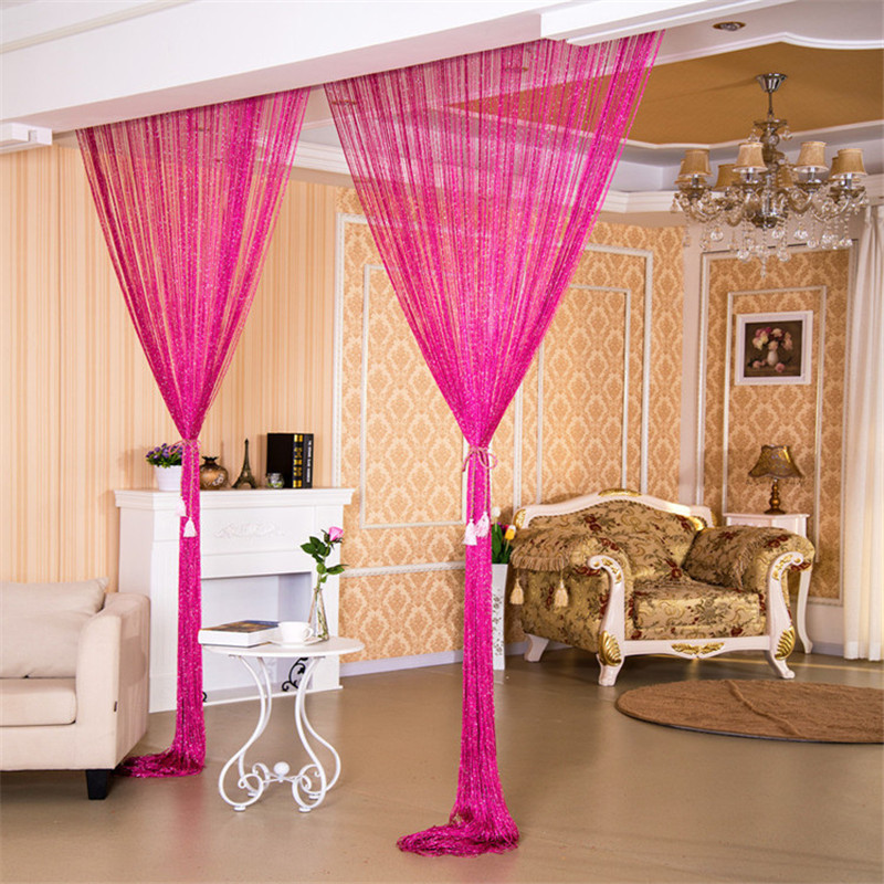 1pcs Tassel String Line Door Curtains For Bedroom Window
