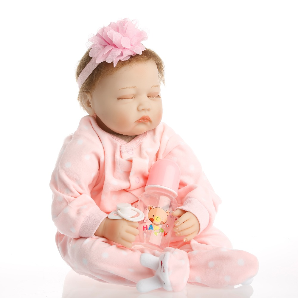 sanydoll hot new reborn silicone baby children s toys magnet pacifier 22 inch 55 cm cute cowboy dress doll SanyDoll 22 inch 55 cm baby reborn Silicone dolls, lifelike doll reborn beautiful sleeping doll