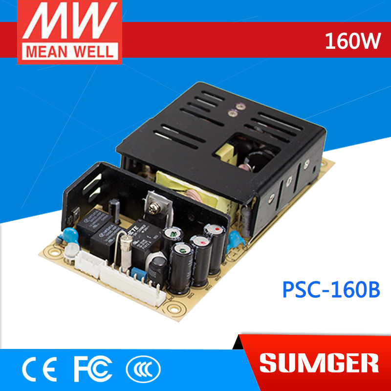 [Sumger2] MEAN WELL original PSC-160B 27.6V meanwell PSC-160 160W Single Output with Battery Charger(UPS Function) PCB type лопата truper psc b ws 33813
