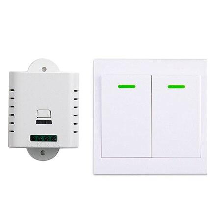 85 V 110 V 220 V 250 V 1CH Interruptor de Control Remoto Inalámbrico Receptor +