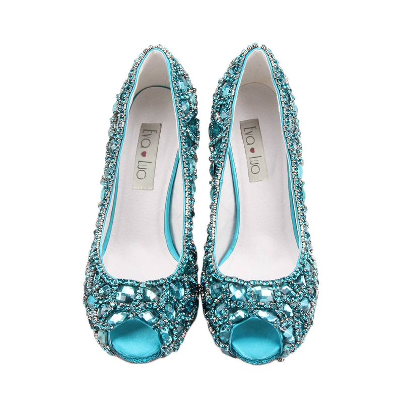 Talons Bout Mariage Femmes Custom Strass Beaucoup Soirée lavender Blue Chaussures Made Orange royal Hauts À red Color Any Robe champagne yellow pink silver customized navy Couleurs Blue Blue aqua white gold Mujuer Ouvert Zapatos fuchsia De peach mint Green Turquoise emerald Green dark Chs218 ivory turquoise purple tqvxwZYx