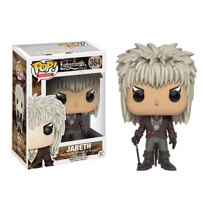 Funko Pop Labyrinth-Jareth Vinyl Action Figure Collectible Model Toys For Children Birthday Gift