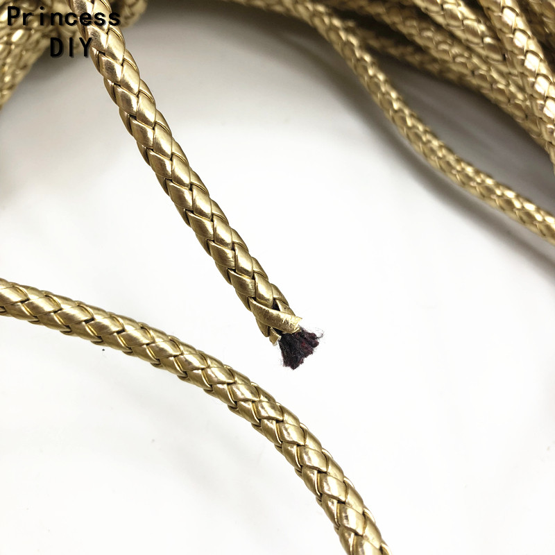 5 x Strong Leather Round Thong Necklace Cords Lobster Clasp 18 inch x 3mm thick