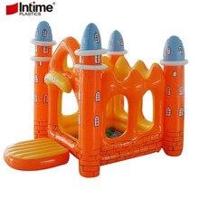 Детский игровой домик надувной складной замок игровой дом крытый и открытый пружинистая кровать детский Cmusement парк замок палатка