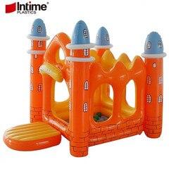 Dom zabaw dla dzieci nadmuchiwane składany zamek dom gry wewnątrz i na zewnątrz odbijając łóżko dla dzieci Cmusement Park namiot zamek|Domki dla dzieci|   -