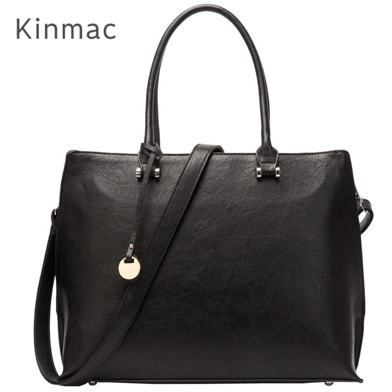 2019 New Brand Kinmac PU Leather Handbag Messenger Bag For Laptop 13 inch Case For MacBook