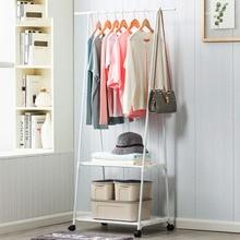 Wielofunkcyjny trójkąt wieszak na kurtki zdejmowana sypialnia wieszak na ubrania z kółkami podłogowa stojąca wieszak na kurtki wieszak na ubrania