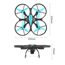 4CH RC Drone Quadcopter Altitude Hold with 0.3MP Camera FPV One Key Return RTF RC Helicopters