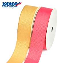 YAMA Gold Purl Grosgrain Ribbon 6 9 16 22 25 38 mm 100yards/roll for Party Wedding Decoration Diy Handmade Rose Flowers