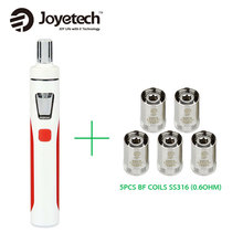 Original Joyetech eGo AIO Kit 1500mAh Quick Vape Kit 2ml 0.6ohm/1.0ohm All-in-One Electronic Cigarette vs ijust s Starter Kit