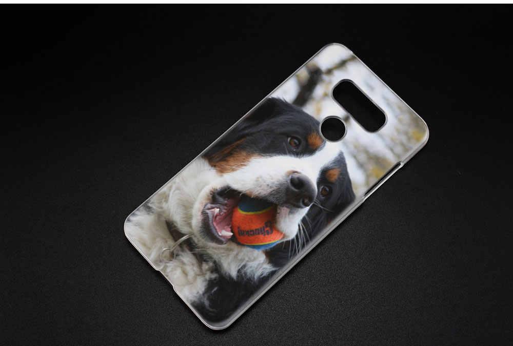 BINYEAE Бернская горная собака Арт жесткий прозрачный чехол для LG q6 G6 мини G5 SE G4 G3 V10 V20 V30