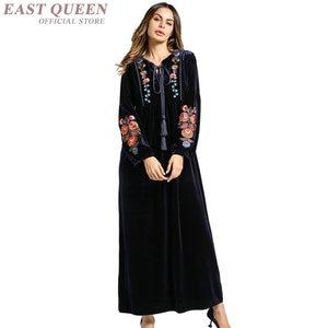 Islamic clothing muslim dress women muslim abaya turkish islamic clothing kaftan dubai abaya for women clothes turkey AA3161