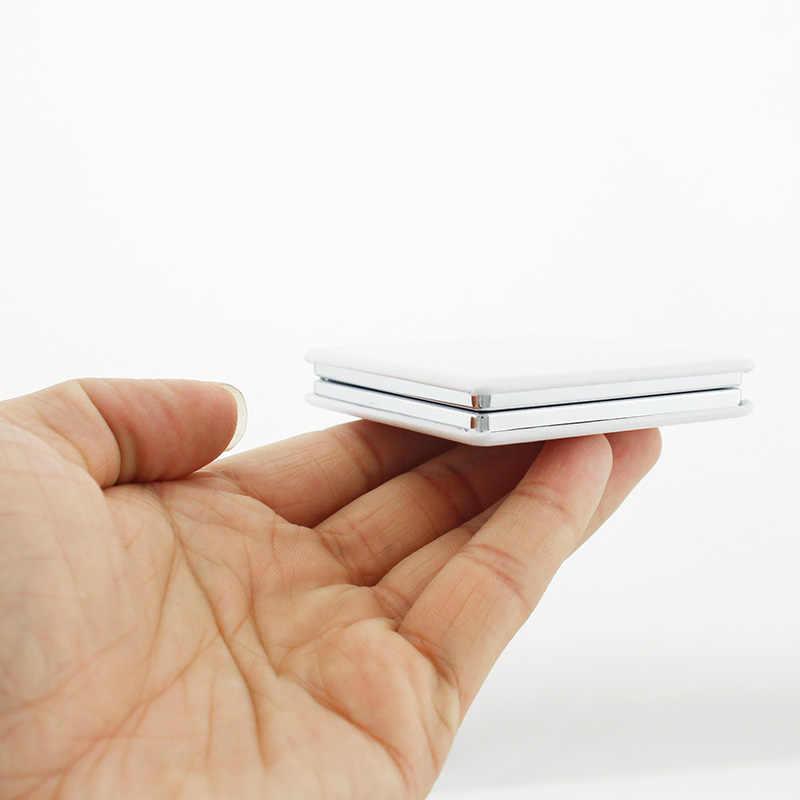 JWEIJIAO professores são o nosso futuro art Mini Espelho de Mão do dia do professor PU Acessórios Ferramentas De Maquiagem espelhos 1X/2X ampliação FQ458