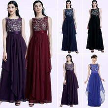 c969d2caaad Long Bridesmaids Dresses Plus Size New Elegant A Line Sleeveless Chiffon  Wedding Party Gowns With Lace